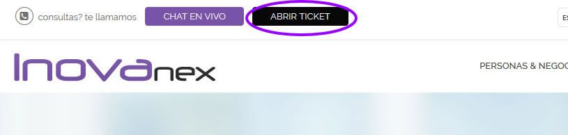 abrir ticket