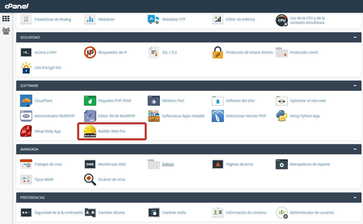 Cómo acceder al Builder y armar un web muy fácil - Streaming para ...